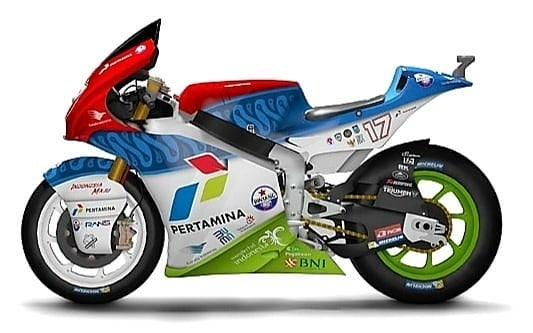 Gambar Motor Mandalika Racing Team Indonesia 2021