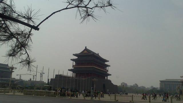 Puerta de Zhengyangmen (Plaza Tian'anmen) (Beijing) (@mibaulviajero)