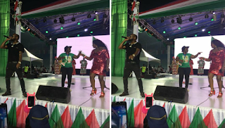 David Adeleke aka Davido thrilling them at the PDP Convention