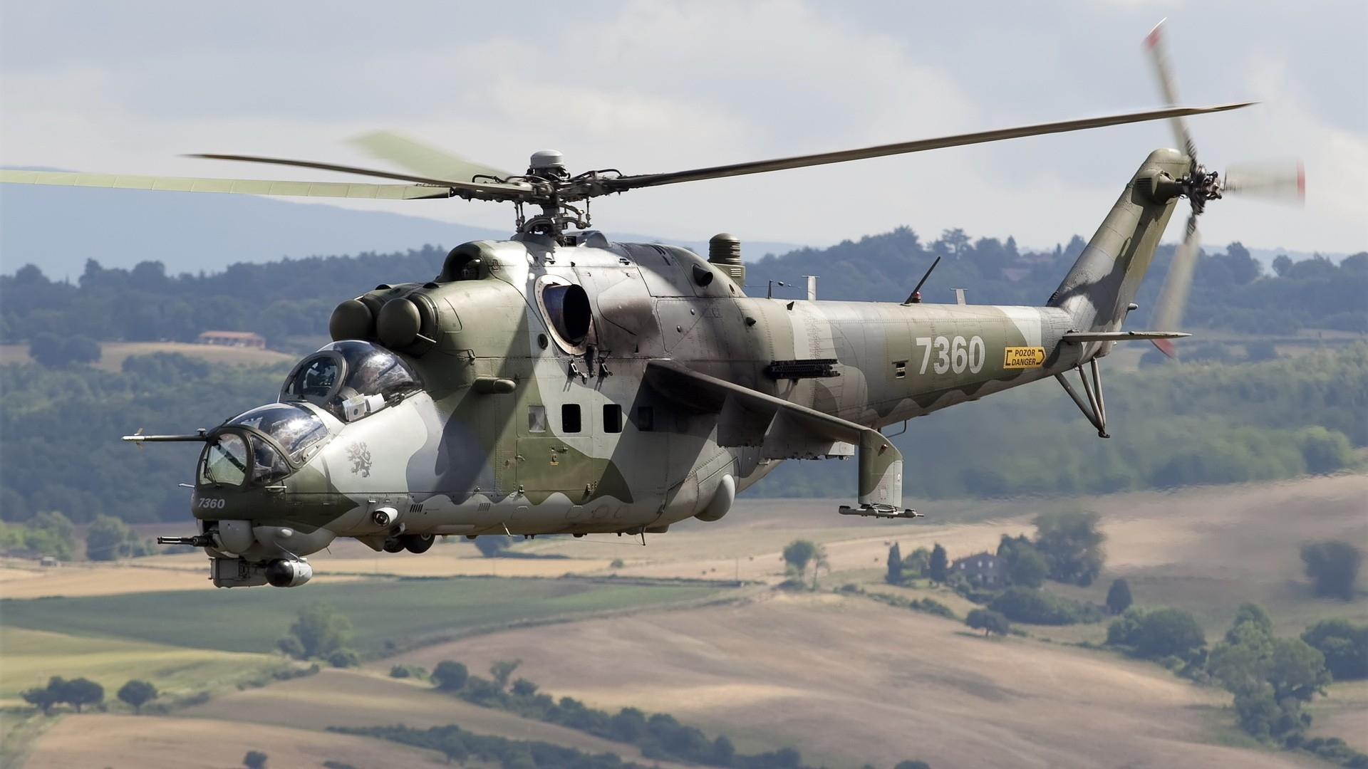9 Mil Mi-24 most powerful military helicopters