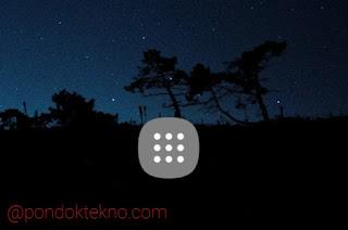 Cara Menampilkan dan Menghilangkan Tombol aplikasi Di layar Depan Samsung