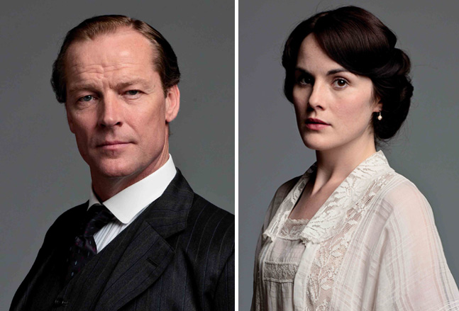 who plays sir richard in downton abbey