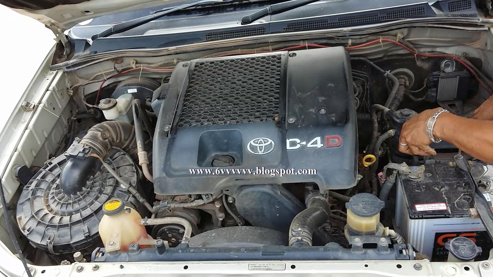 Toyota Hilux Vigo 1KD-FTV (3000 CC)
