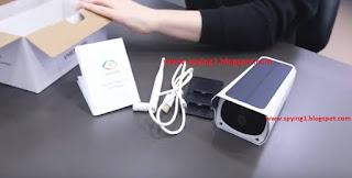 كاميرات مراقبة لاسلكية بالطاقة الشمسية