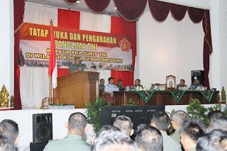 Panglima TNI : Prajurit Harus Berjuang Demi Kepentingan Rakyat