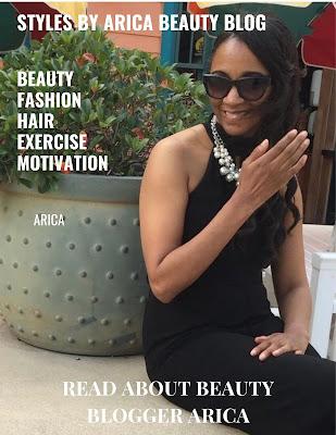 Arica Hart, Beauty bloggers USA, blog, Styles by Arica Beauty Blog