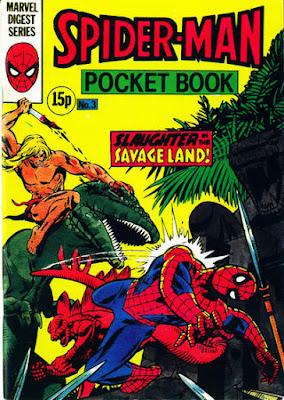 Spider-Man pocket book #3, Ka-Zar