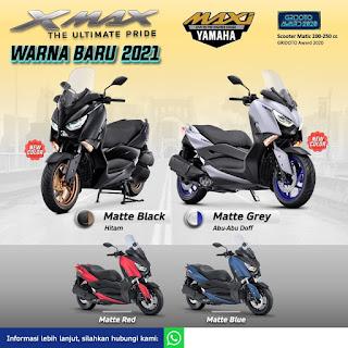Ada Yang Baru Nih dari Yamaha X-Max 2021