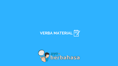 contoh verba material