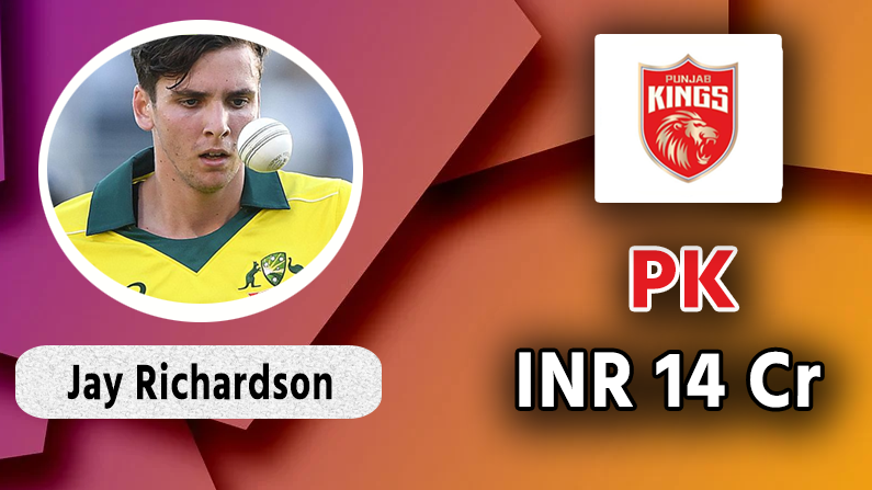 Jay Richardson to Punjab Kings
