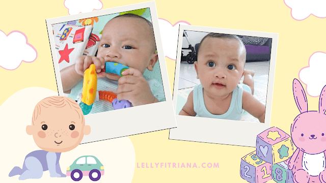 Stimulasi bayi 4-5 bulan
