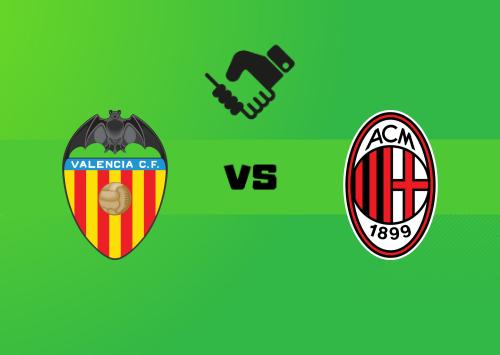 Valencia vs Milan  Resumen