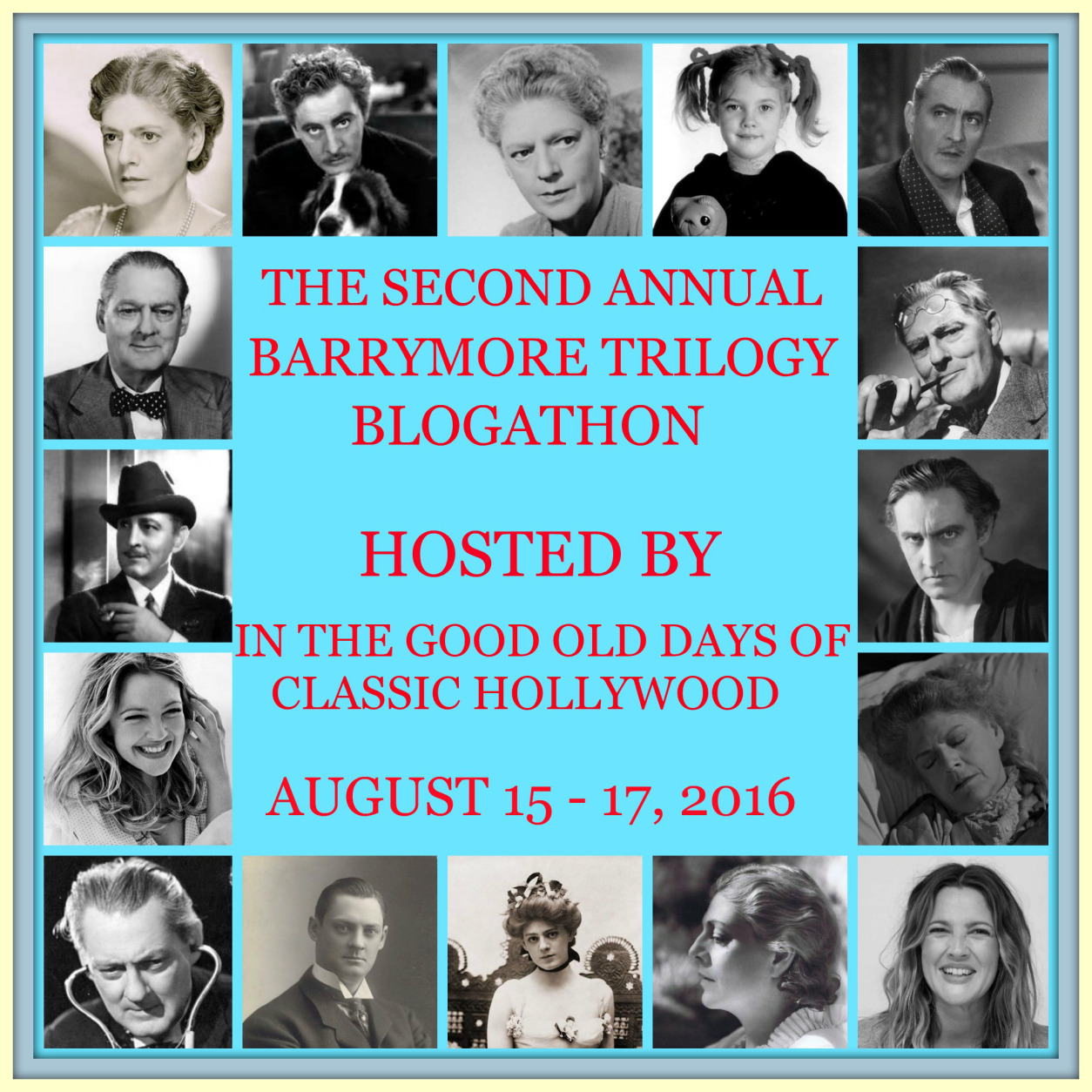 Barrymore Trilogy Blogathon