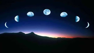 The moon shrinks, increases and even hides someday, why so?
