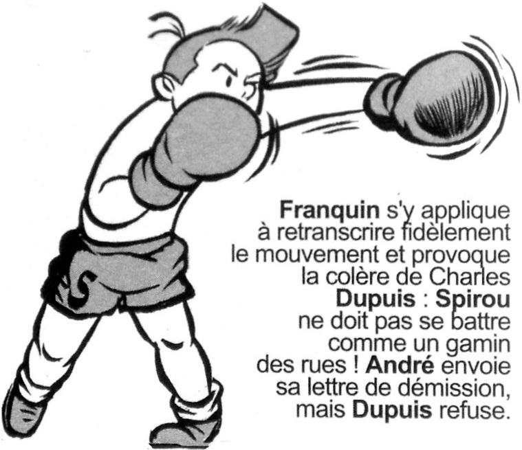 Clins D Yeux Et Bandessinees Spirou Sur Le Ring