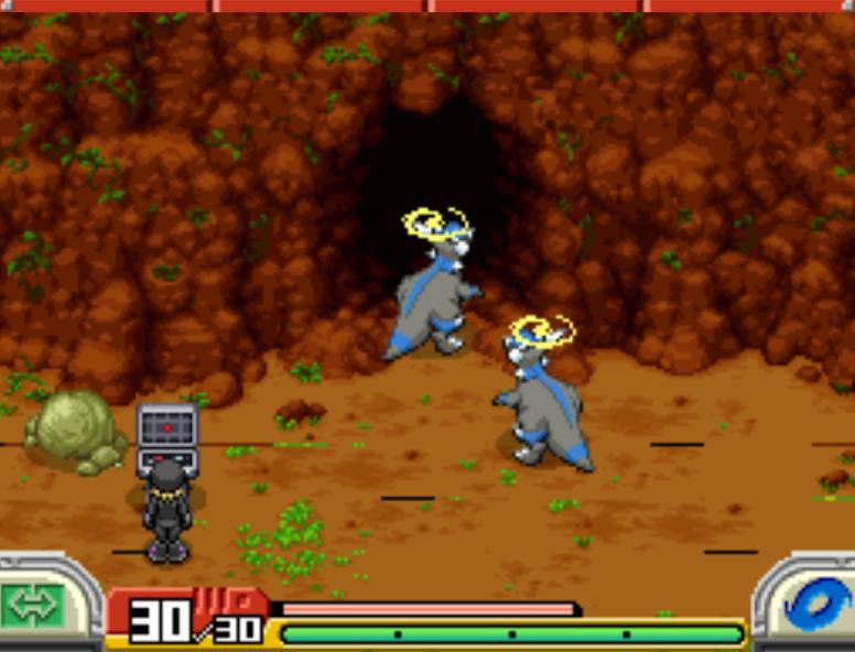 Pokémon Ranger: Shadow of Almia - Team Dim Sun