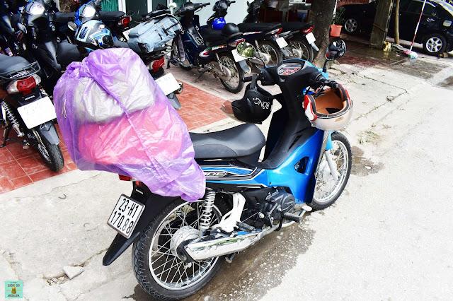 Moto semiautomática para el loop de Ha Giang