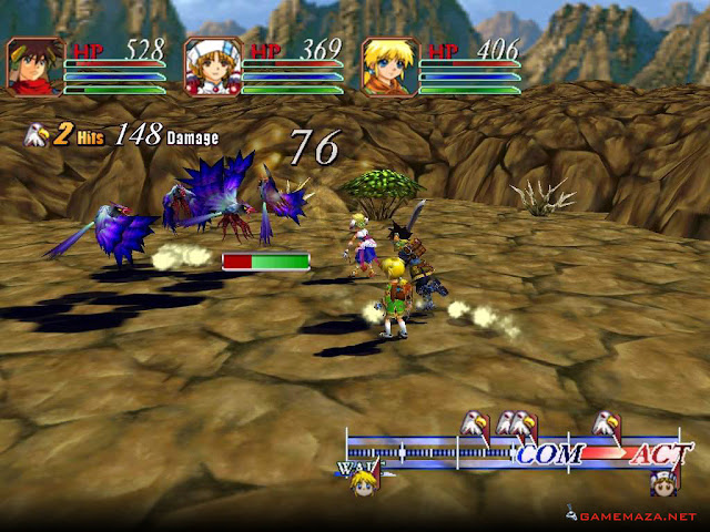Grandia II Anniversary Edition Gameplay Screenshot 3