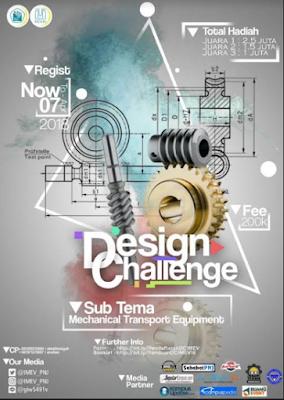 Lomba Design Challenge Nasional 2018 di Politeknik Negeri Jakarta