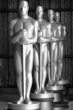 Imagen: 3 Óscars de la Academia en fila