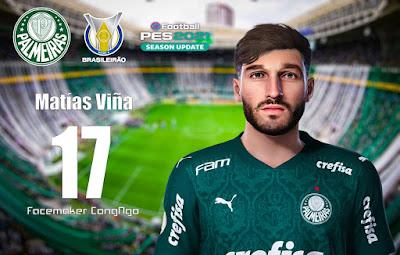 PES 2021 Faces Matías Viña by CongNgo