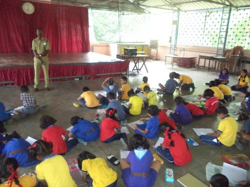 Essay and Painting Competition by Highway Police