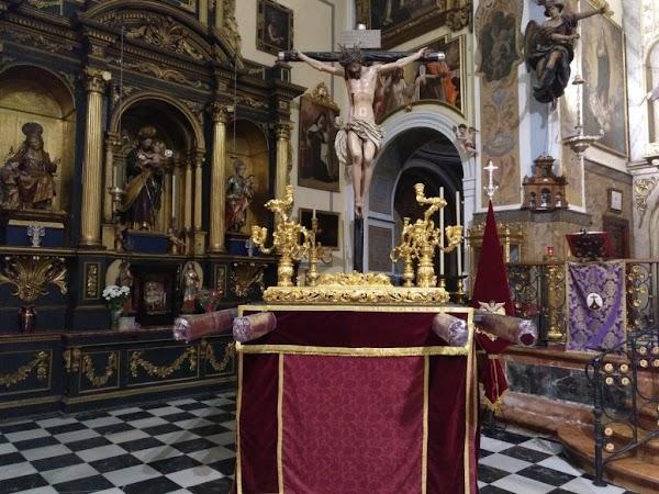 Horario e itinerario del Via Crucis del Cristo de los Desamparados de Sevilla
