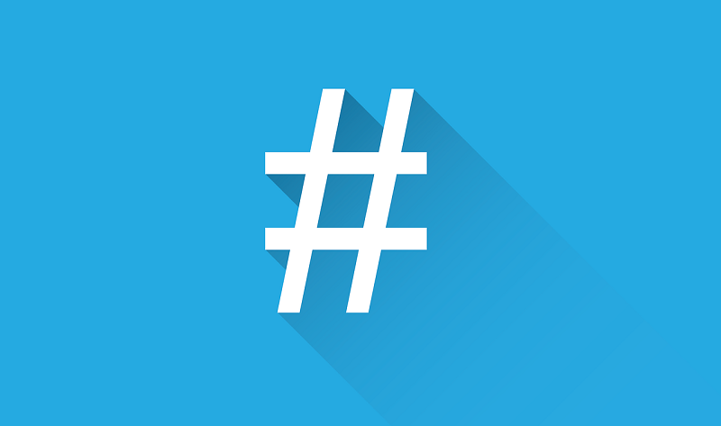 Hashing Out the Almighty #Hashtag - #infographic #socialmedia