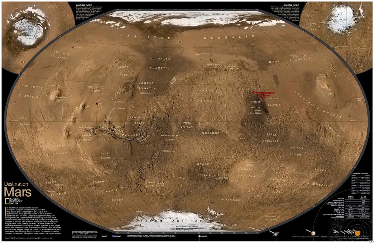 Perseverance Mars 2020 rover landing location
