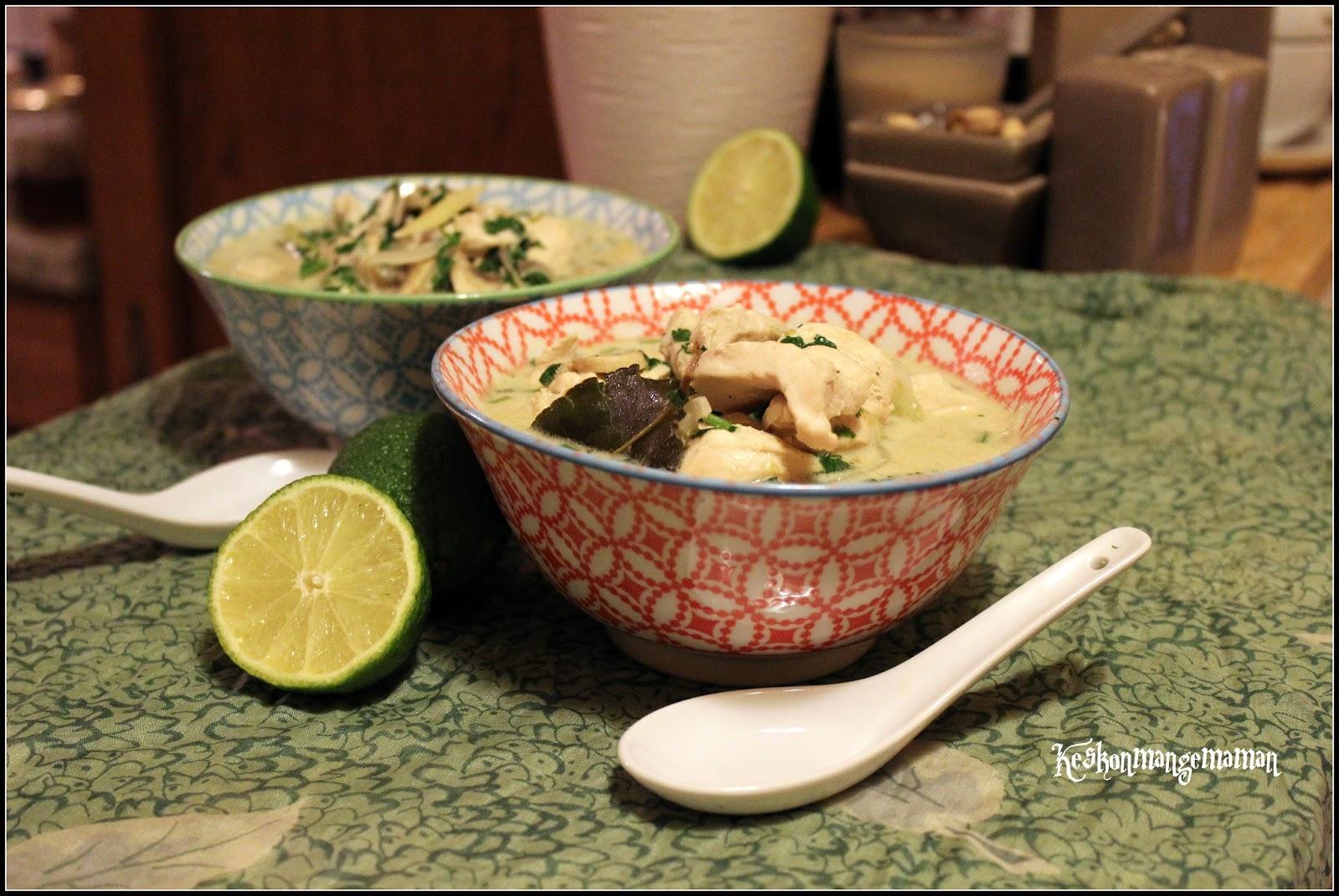 Keskonmangemaman cuisiner pour la paix la tha lande - Cuisiner avec l huile de coco ...