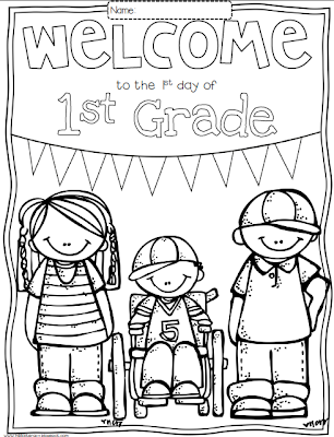Free Printable First Grade Coloring Pages