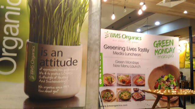 BUY 1 FREE 1  'GREEN MONDAY' WITH BMS ORGANICS