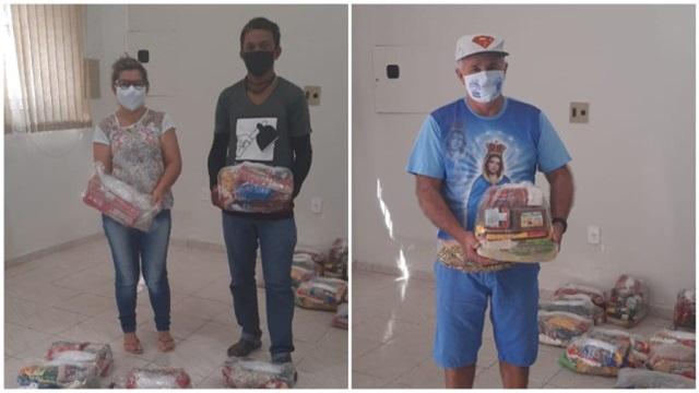 Projeto da Diocese de Patos arrecada cestas básicas para distribuir para famílias carentes