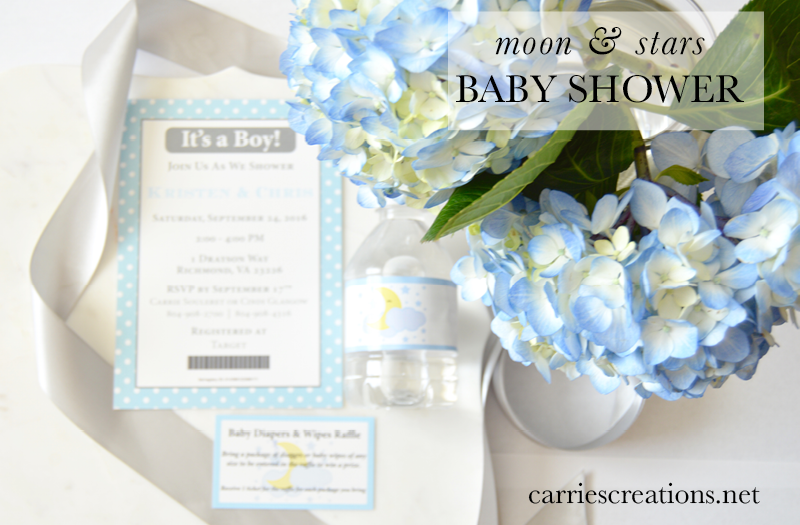 Carries Creations Moon And Stars Baby Shower