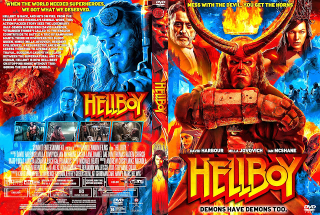 Hellboy DVD Cover