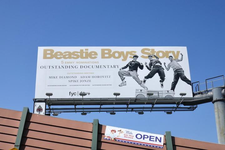 Beastie Boys Story Emmy nominee billboard