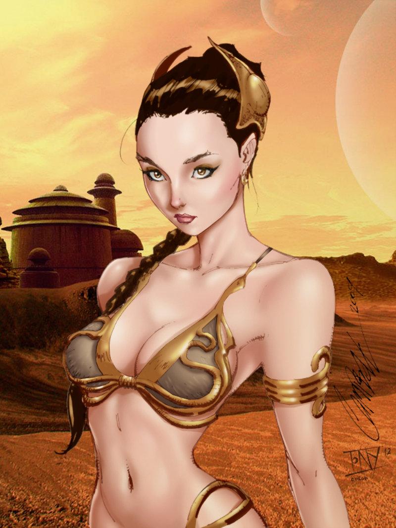 The Comics Girls Princess Leia-5692