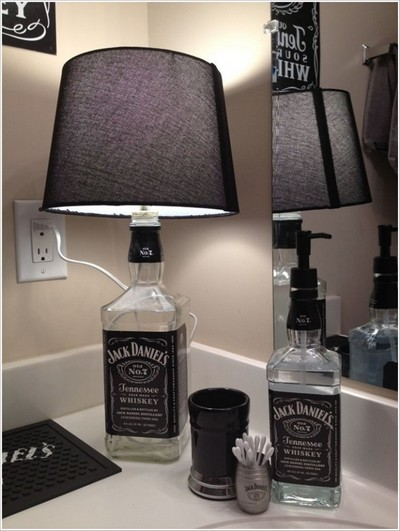 Ideias criativas para fazer com garrafas de bebidas alcoólicas