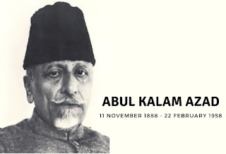 Abul Kalam Azad Birthday on 11 November