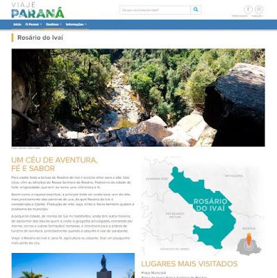 Portal de Turismo do Paraná