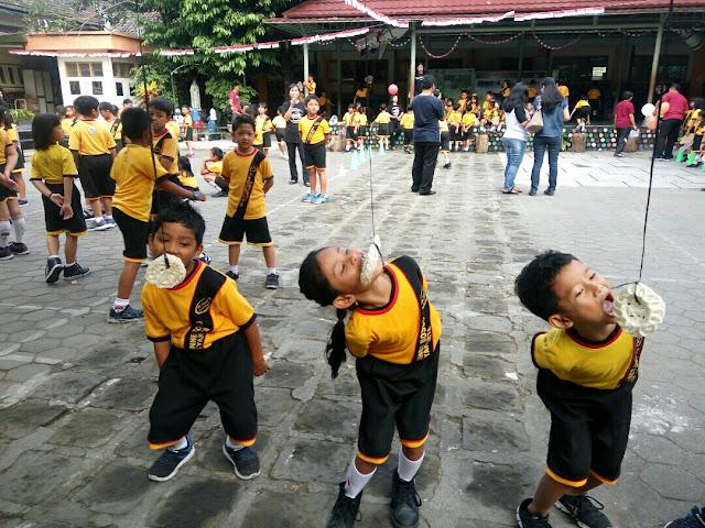 lomba agustusan SD Joannes Bosco Yogyakarta