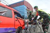 Kaum Disabilitas Peduli, NPCI Bagikan Ribuan Masker di Cianjur