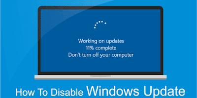 Cara Mematikan Update Windows 10 Secara Permanen dan Sementara, Auto Berhasil!