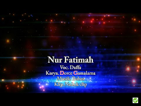 Lirik Lagu Daffa Nur Fatimah