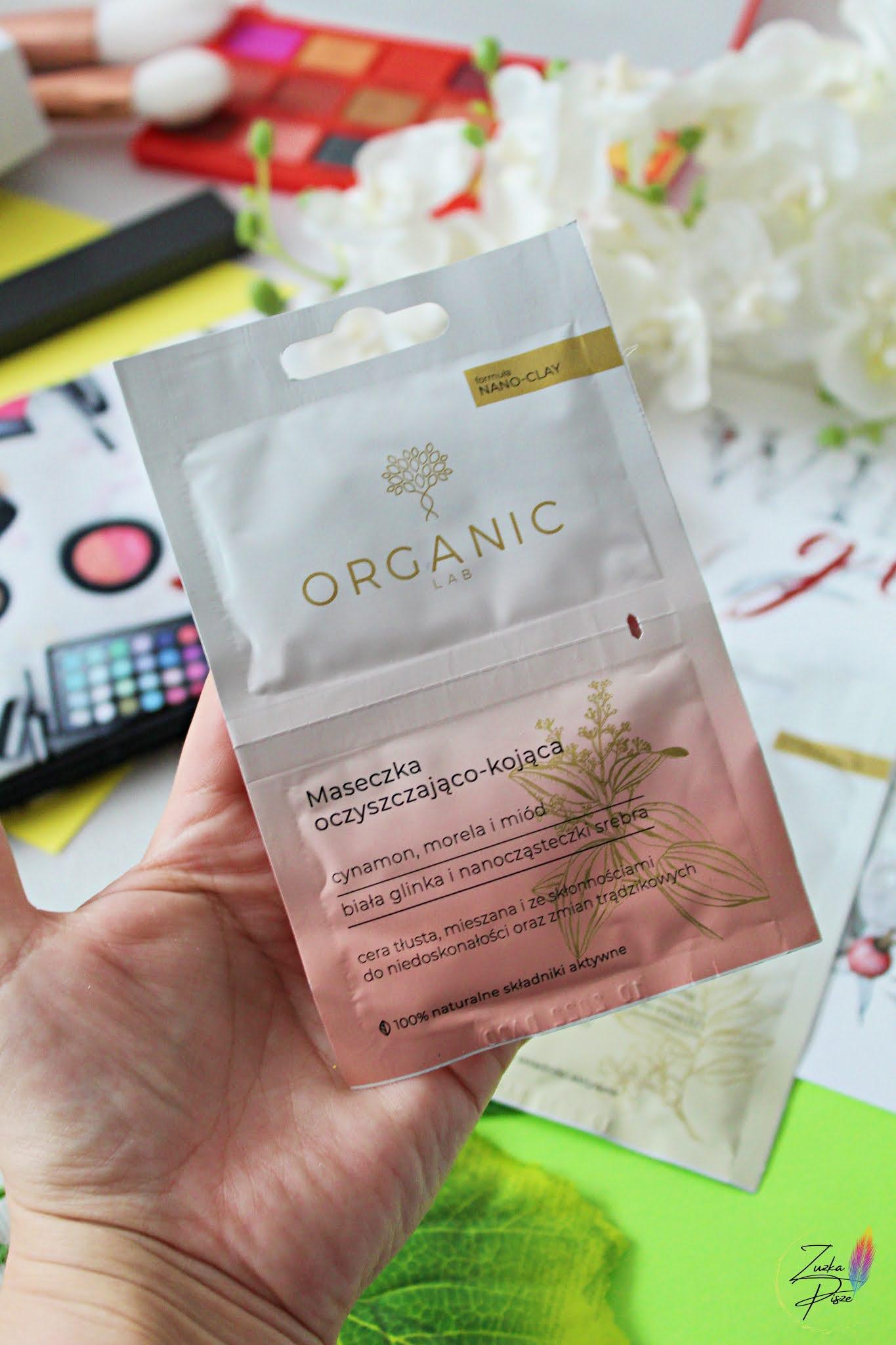 Organic Lab Maseczka Oczyszczjąco-kojąca