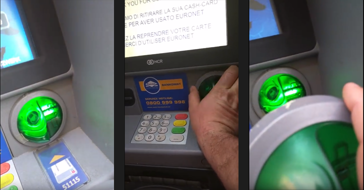 Researcher spots an ATM Skimmer while on vacation in Vienna