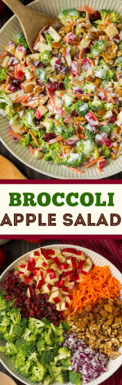 Broccoli Apple Salad #healthyrecipeseasy #healthyrecipesdinnercleaneating #healthyrecipesdinner #healthyrecipesforpickyeaters #healthyrecipesvegetarian #HealthyRecipes #HealthyRecipes #recipehealthy #HealthyRecipes #HealthyRecipes&Tips #HealthyRecipesGroup  #food #foodphotography #foodrecipes #foodpackaging #foodtumblr #FoodLovinFamily #TheFoodTasters #FoodStorageOrganizer #FoodEnvy #FoodandFancies #drinks #drinkphotography #drinkrecipes #drinkpackaging #drinkaesthetic #DrinkCraftBeer #Drinkteaandread