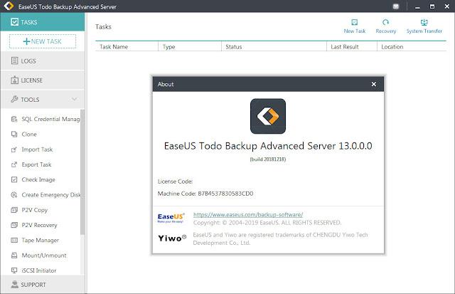 Screenshot EaseUS Todo Backup 13.0.0.0 Full Version