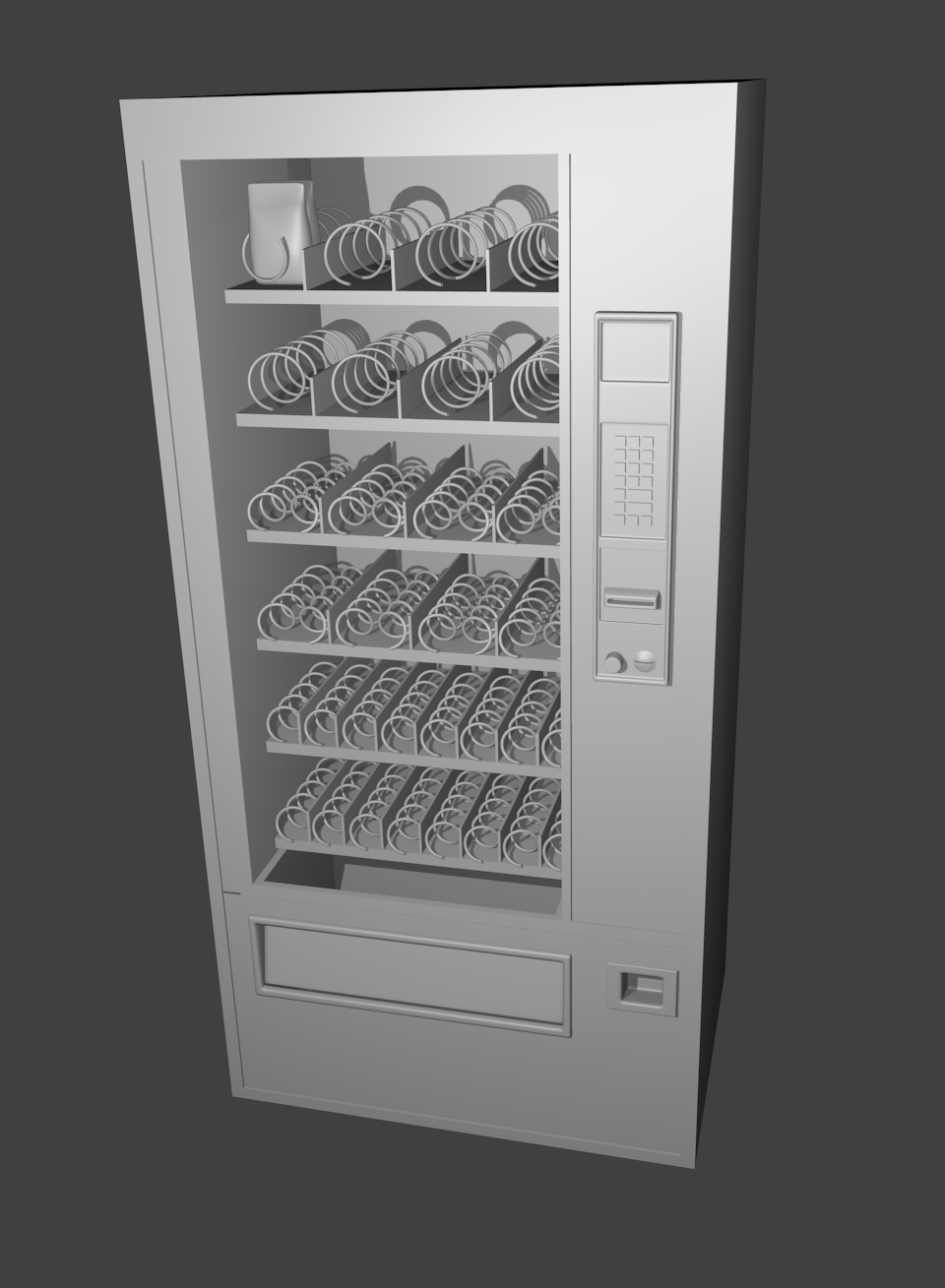 Shane S 3d Blender Models Soda Fountain Machine
