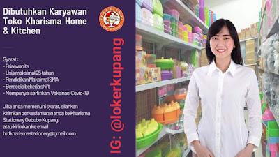 Lowongan Kerja Kharisma Home & Kitchen Sebagai Karyawan Toko
